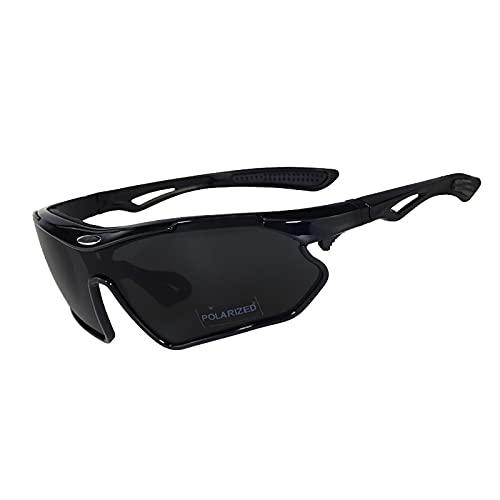 HBHBYNYN Gafas de Sol polarizadas Deportes Hombres Mujeres Ciclismo Running conducción vidrios de la Pesca, UV400 Gafas de Sol para Bicicletas (Color : E)