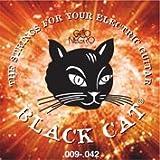 Juego de cuerdas para guitarra eléctrica Black Cat by Gato Negro