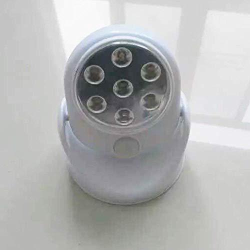 Bewegingsmelder licht 7 LED nacht automatische kast veiligheid Pir 360 graden deur schuur muur draadloos