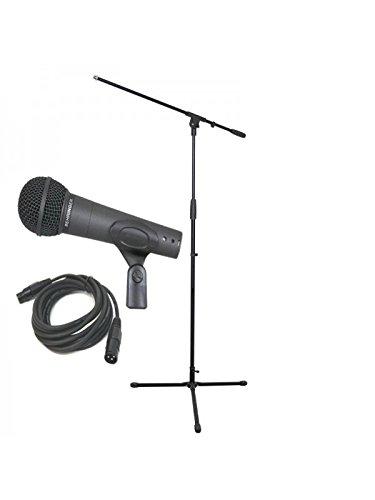 Behringer Ultravoice XM8500 Paket inkl. Mikrofon Boom Ständer & XLR Kabel