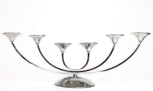 Premium Luxe Grote Zilveren Kandelaar