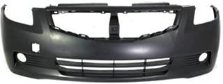 Crash Parts Plus Primed Front Bumper Cover Replacement for 2008-2009 Nissan Altima Coupe