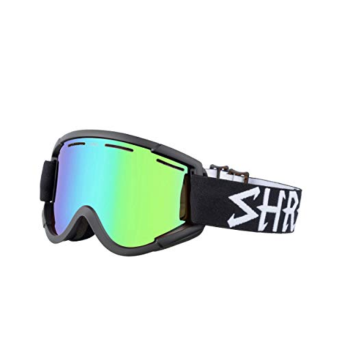 Shred Nastify Eclipse Plasmand Skibrille, Black, Einheitsgröße