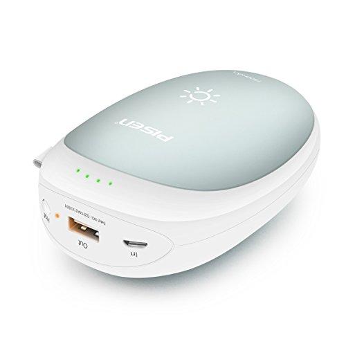PISEN Hand Warmer 7500mAh USB Rechargeable Hand...