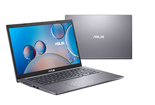 ASUS F415JA-EB770T - Portátil 14' Full HD (Core i5-1035G1, 8GB RAM, 512GB SSD, UHD Graphics, Windows 10 Home) Gris Pizarra - Teclado QWERTY español