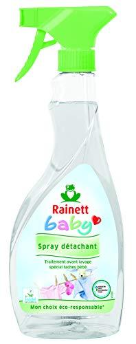 Rainett – Smacchiante ecologico ipoallergenico, per neonati, lotto di 2