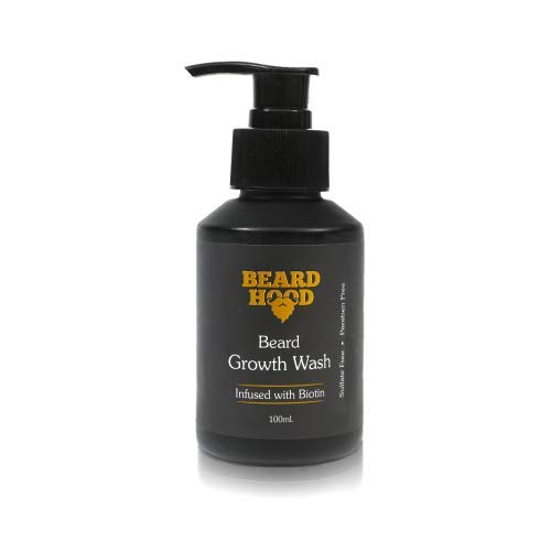 Lavado de crecimiento de barba