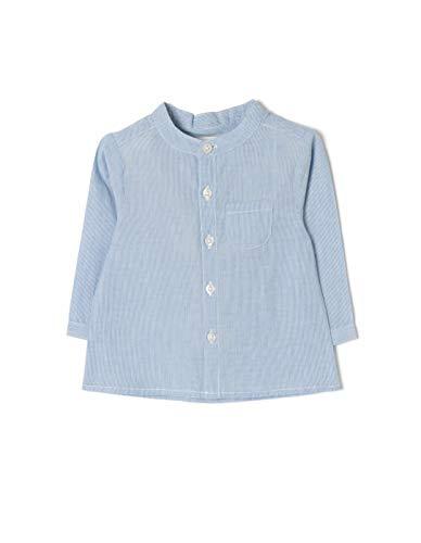 Zippy ZIPPY Baby-Jungen Znb0301_455_3 Freizeithemd, Blau (Kentucky Blue 532), 54 (Herstellergröße: 0/1M)