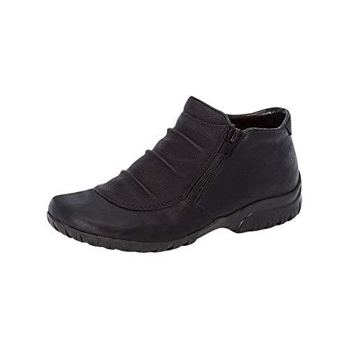 Rieker L4691, Zapatillas Altas Mujer, Negro, 36