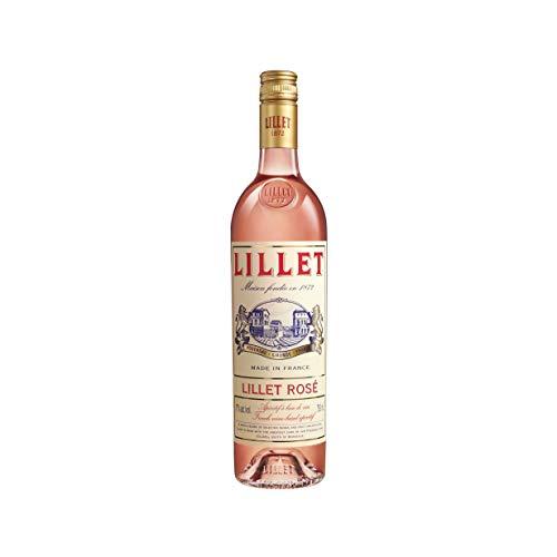 Lillet Rosé – Französischer Weinaperitif mit fruchtig-frischem Geschmack – 1 x 0,75 l