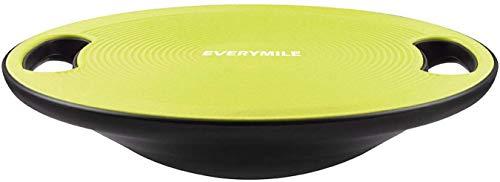 バランスボード ダイエット 体幹トレーニング用 EVERYMILE 滑り止め 直径40cm 運動不足 エクササイズ 持ち運びやすい(黄色)