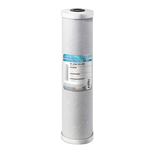 "APEC Water Systems 20"" Whole House High Flow Carbon Block Replacement Water Filter (FI-CBC20-BB)"