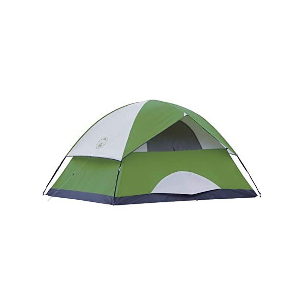 Coleman Sundome 4 Person Tent (Green and Navy color options)