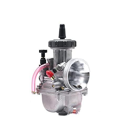 Motor 4T 33 34 35 36 38 40 42mm para P&WK para carburador para K&eihin Usado en S&Cooter Motocross Motor Todoterreno con Buena Potencia TRX250R Carburador (Color : For Maikuni 21mm)
