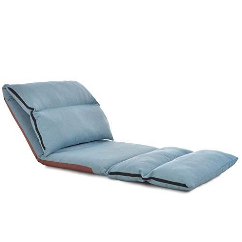 LSRRYD 180° verstelbare gangstoel, yoga-stoel met rugleuning, inklapbaar, sofa, meditatiestoel voor balkon, speelstoel