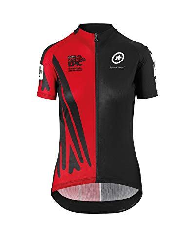 assos SS.CAPEEPIC XC Jersey_EVO7 Lady National Rouge (L)