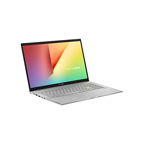 """ASUS VivoBook S15 S533 Thin and Light Laptop, 15.6"""" FHD Display, Intel Core i5-1135G7 Processor, 8GB DDR4 RAM, 512GB PCIe SSD, Wi-Fi 6, Windows 10 Home, Dreamy White, S533EA-DH51-WH"""