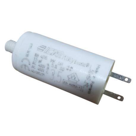 3 condensateurs 3.5 µF pour volet roulant SOMFY cosses 28 mm