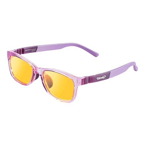 PRiSMA KIDS Blaulichtfilterbrille für Kinder mit LiTE95 Blaulichtfilter, Kinderbrille K2704 mit 95% Blaufilter und robuster Fassung in Lila