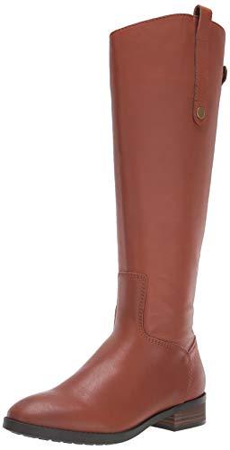 Amazon Brand - 206 Collective Women's Voltan Leather Fashion Boot, Cognac, 6 B US