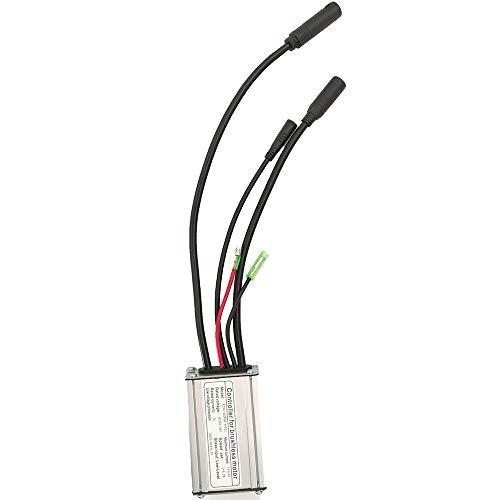Ebike 36V48V 15A KT Kunteng Controller für 250W / 350W Motor mit wasserdichtem Anschluss oder SM-Anschluss (WP with Light)