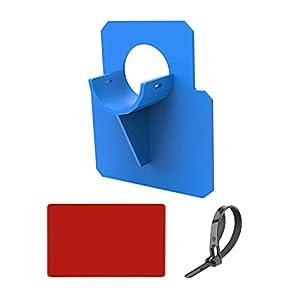 penta Soporte De Tubo De Piscina, Soporte De Manguera De Piscina, Soporte De para Tubos De 30 Mm A 37 Mm Diseñados, Protección contra Torceduras De Plástico En Color Azul para Piscinas Elevadas