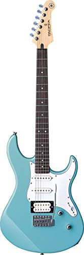 Yamaha Pacifica 112V, Guitarra eléctrica para principiantes y más, con un diseño elegante y sonido muy versátil gracias a su configuración de sonidos, color sonic blue vintage