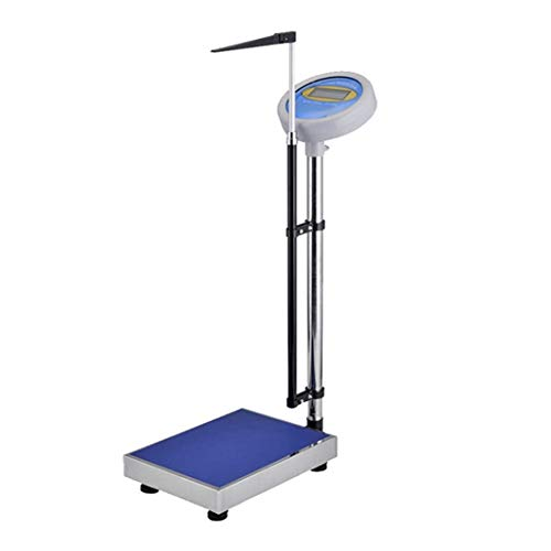 Read About Lcxliga Height and Body Weight Bathroom Scale,with Height Rod LCD Displays,Digital Clinic...