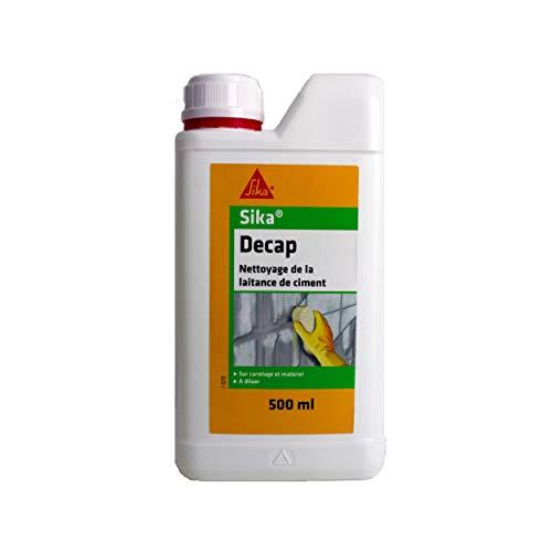 Sika Decap, Décapant nettoyant à diluer pour laitance de ciment de carrelage, 500ml