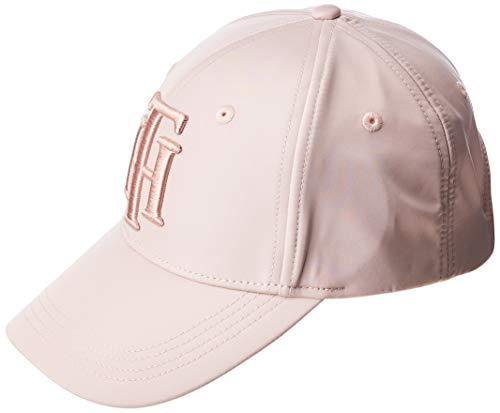 Tommy Hilfiger TH Cap Gorra, Rosa (Pink Tf6), Talla única para Mujer