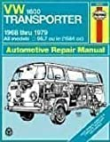 VW Transporter 1600 Owners Workshop Manual - All Volkswagen Transporter 1600 Models with 1584 cc (96.7 cu in) engine [1968-79] by J.H. Haynes D.H. Stead(1982-01-15) - Haynes Publishing Group - 15/01/1982