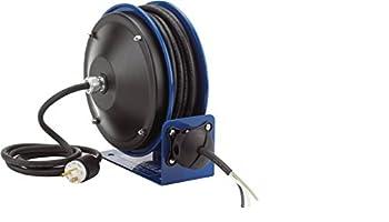 Coxreels PC10-3016-4 Compact efficient heavy duty power cord reel