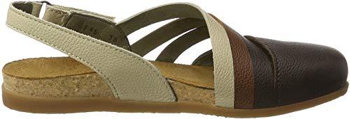 El Naturalista S.A Nf45 Soft Grain Zumaia, Closed-toe femme, Multicolore (Brown Mixed), 40 EU