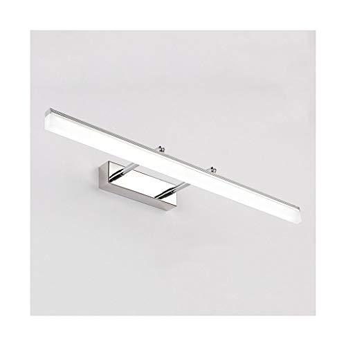 Zonnespiegel voor gang, licht, LED, badkamer, dressing spiegel, koplamp, make-upspiegel, telescoop, energieklasse A +