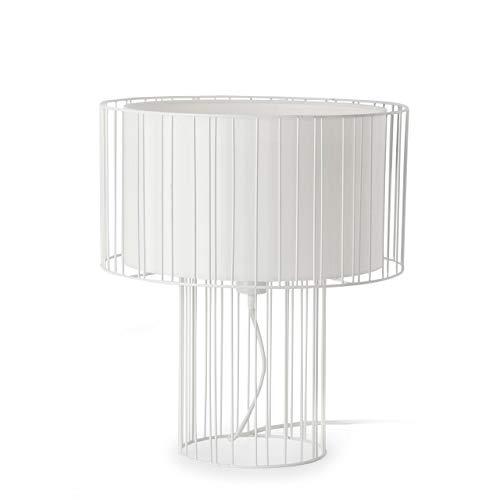 Faro Barcelona 29307 - LINDA Lampe de table blanc