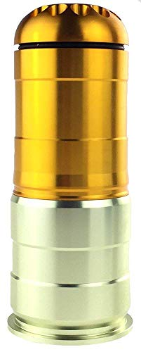 SportPro 120 Round CNC Aluminum BB Shower for Airsoft - Gold