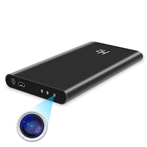 【令和2年最新型】モバイルバッテリー型隠しカメラ 1080P 高画質 長時間録画 スパイカメラ 暗視機能 長時間録画 携帯便利 日本語取扱説明書 大容量 軽量 薄型