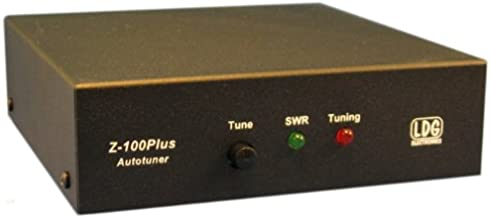 LDG Electronics Z-100PLUS Automatic Antenna Tuner 1.8-54 MHz, 0.1-125 Watts, 2 Year Warranty