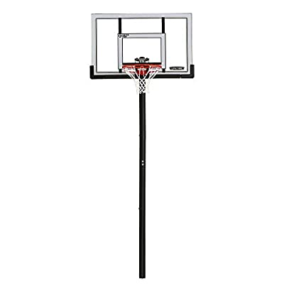 Lifetime In-Ground Basketball Hoop (52-Inch Polycarbonate) Adjustable
