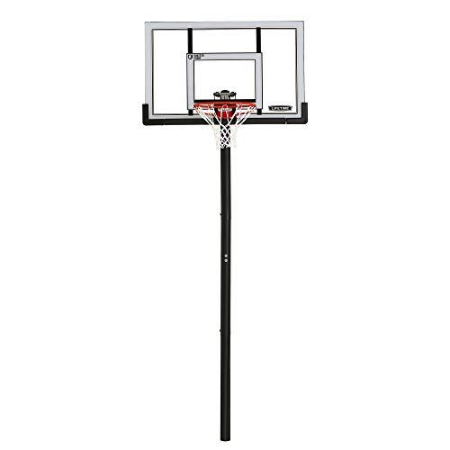 Lifetime In-Ground Basketball Hoop (52-Inch Polycarbonate) Adjustable