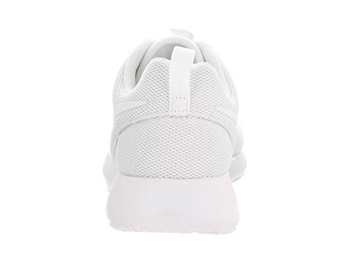 Nike Womens Roshe One Running Shoes (5 B(M) US)(White/White Pure Platinum)