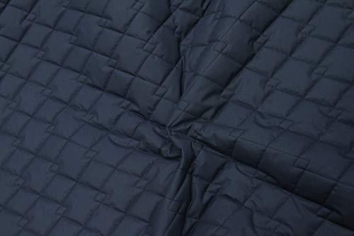 Chaquetas suaves de tela acolchada transpirable de microfibra impermeable para mascotas Azul marino - 1 metro x 150 cm.