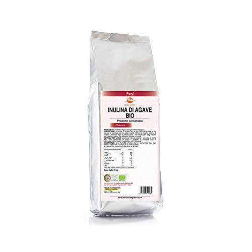 Inulina di Agave da agricoltura biologica, Fibra alimentare prebiotica (Neutro, 1000 g)