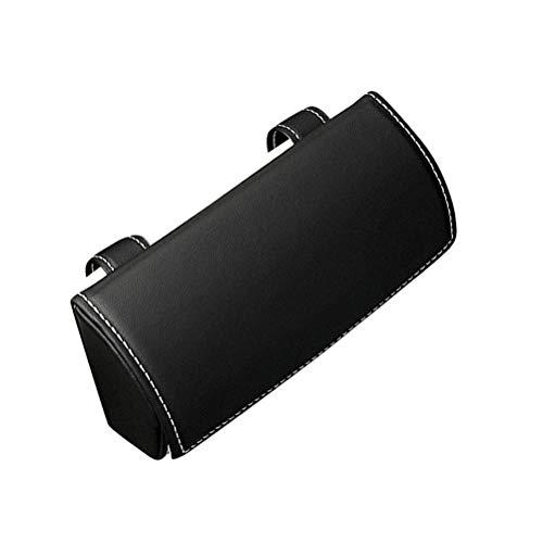 SHARRA Soporte de Gafas para Visera de Coche Universal Cuero de PU Gafas de Sol de Coche Estuche para Gafas Caja de Gafas Organizador de Caja de Almacenamiento para Coche SUV RV Camión