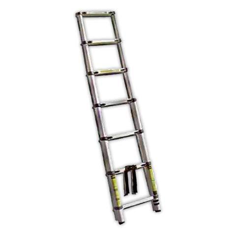 Escalera doble PROLINE PMDS04 | Peso 3,8Kg Aluminio (4 Peldaños)