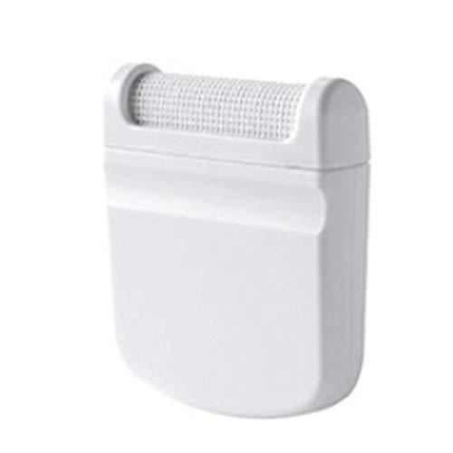SeniorMar-UK Mini Lint Remover Handbuch Haarballschneider Fuzz Pellet Cutter Tragbarer Pullover Kleiderrasierer Keine Batterie StromversorgungWeiß