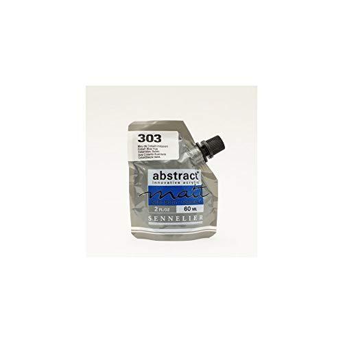 Sennelier Color acrílico mate Serie Abstract Matt 60 ml 303 Azul Cobalto IMIT.