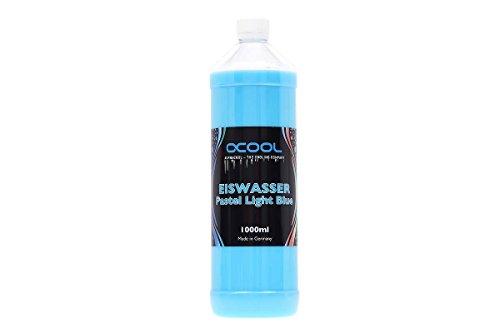 Alphacool 18556 Eiswasser Pastel Light Blue Fertiggemisch 1000ml Wasserkühlung Wasserzusätze