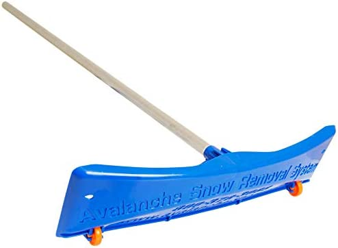 Avalanche! Traditional Snow Roof Rake for Roof Snow Removal: Snow Rake Deluxe 20 Removes Snow, Prevents Damage. 24 In...