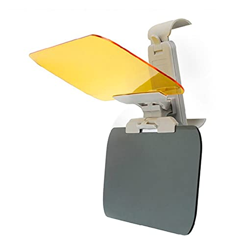 coche Parasol visera Coche Anti fuerte Gafas de Gafas Mirror Mirror Sun Visor Sunscreen Sombra Auto Sol Driver Driver Protection Car Styling (Color : As show)